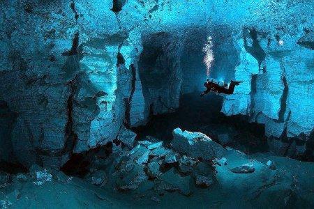 Прохождение курса закрытых пещер Limited Cave NASE